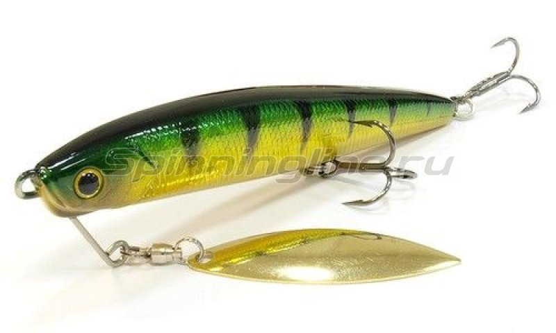 Lucky Craft - Воблер Blade Cross Bait 110 Aurora Green Perch 280 - фотография 1