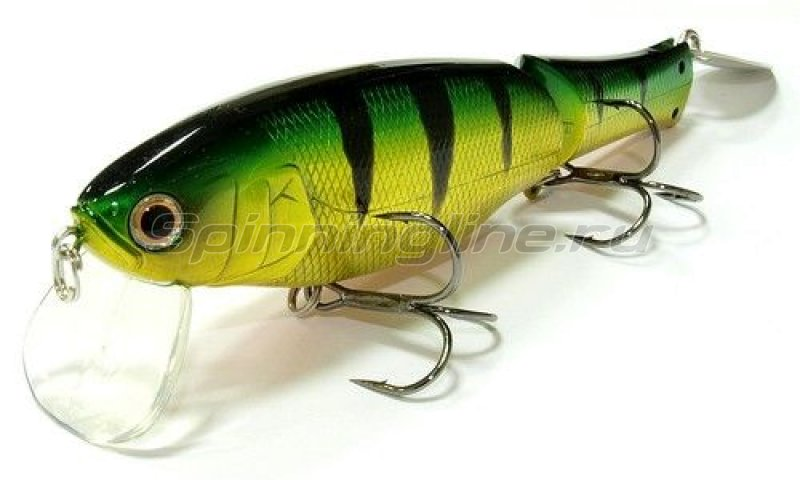 Lucky Craft - Воблер Real California 128 Aurora Green Perch 280 - фотография 1