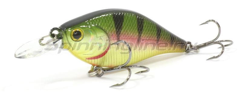 Lucky Craft - Воблер Wobty 53F Aurora Gold Northern Perch 884 - фотография 1
