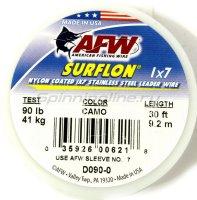 Поводковый материал AFW Surflon 1*7, 9.2м, 61кг D 135-0