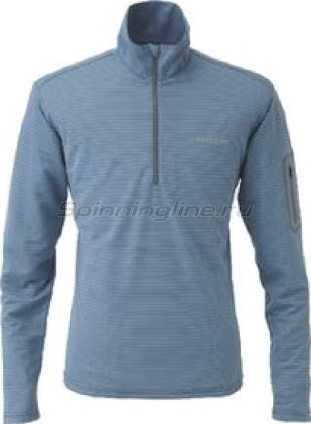 FreeKnot - Терморубашка Bowbuwn Cool Zip Shirt LL Blue - фотография 1