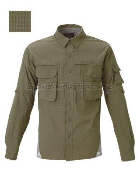 FreeKnot - Рубашка Bowbuwn Field Shirt Khaki green 3L - фотография 1
