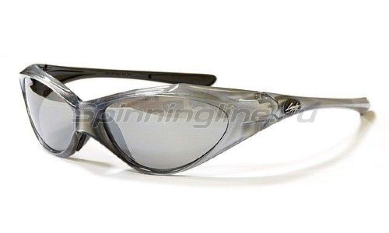 Очки Lucky Craft Warrior-001 Clear Silver-Silver Mirror - фотография 1