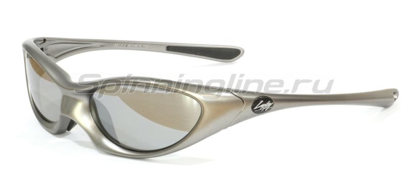 Очки Lucky Craft Warrior-004 Mat Titan Silver-Silver Mirror -  1