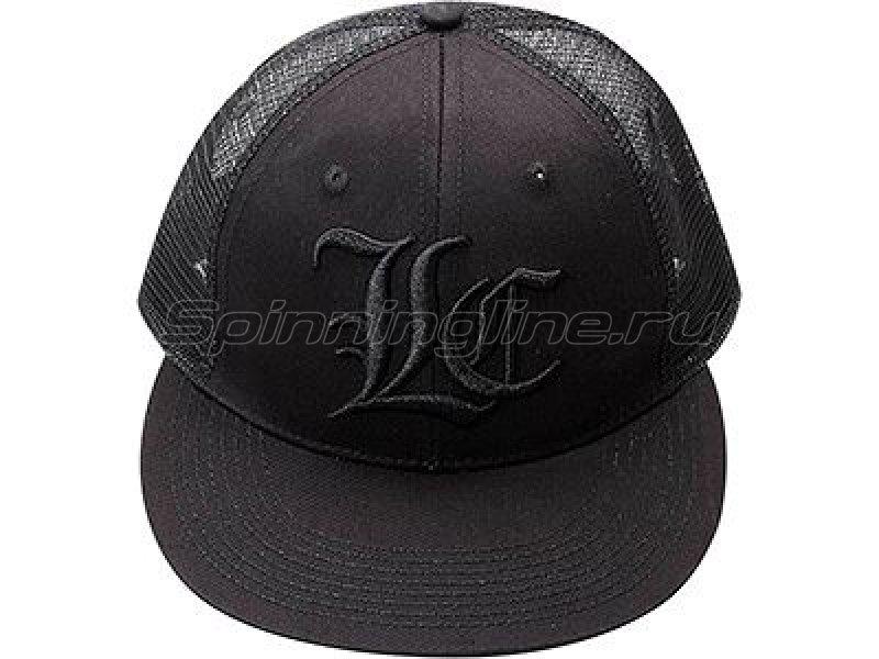 Кепка Lucky Craft Flat Pop Center black&black -  1
