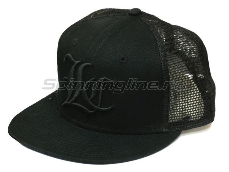Кепка Lucky Craft Pop Flex Fit Cap Center black&black - фотография 1
