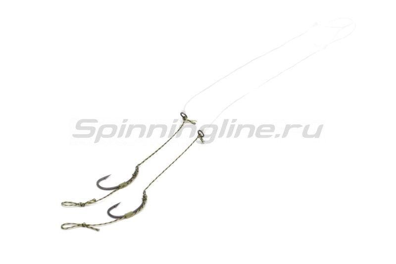 Оснастка волосяная Combi Rig mit ring №8 -  1