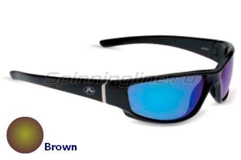 Очки Aqua Moray Shine Black PL Brown -  1