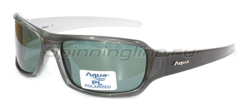 Очки Aqua Venus Shiny Grey PL Grey -  1