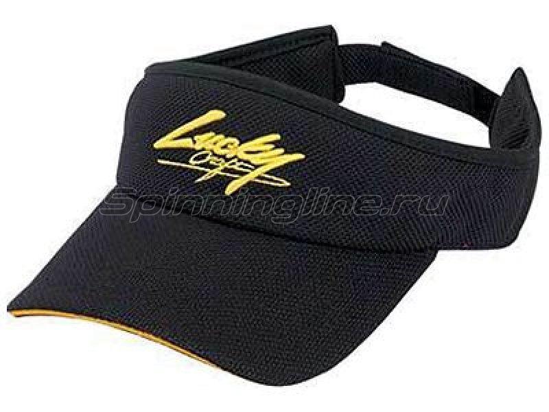 Солнцезащитный козырек Lucky Craft Sun Visor black&yellow - фотография 1