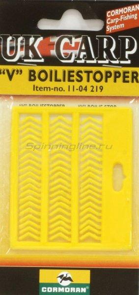 Cormoran - Стопор для бойлов V- образный желтый - фотография 1