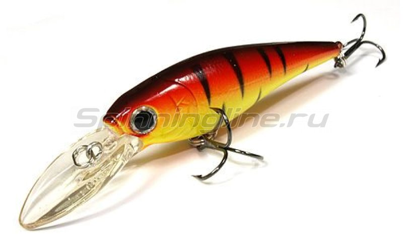 Lucky Craft - ������ Bevy Shad 75SP 0289 Fire Tiger 411 - ���������� 1