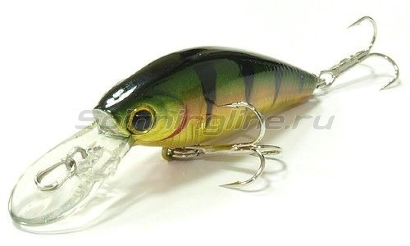 Lucky Craft - Воблер Bevy Shad TanGo 45SP Aurora Gold Northern Perch 884 - фотография 1