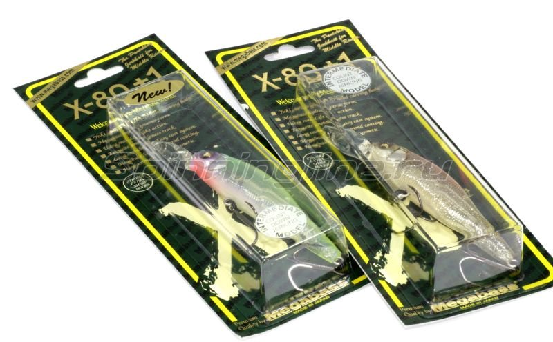 Megabass - Воблер X-80 Plus 1 glxs natural shad - фотография 2