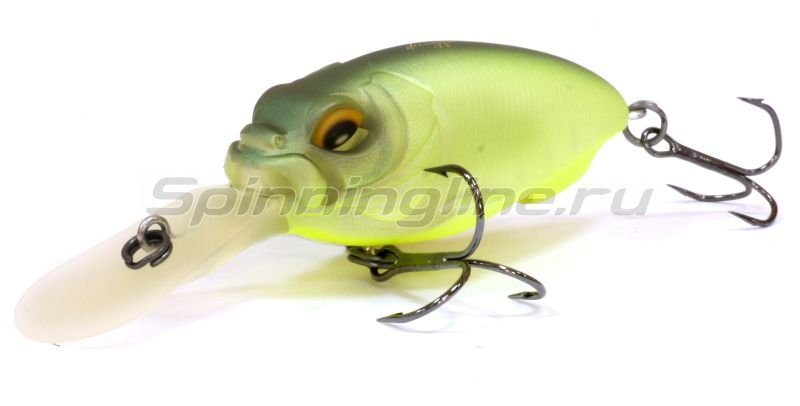 Megabass - Воблер MR-X Cyclone mat lime - фотография 1