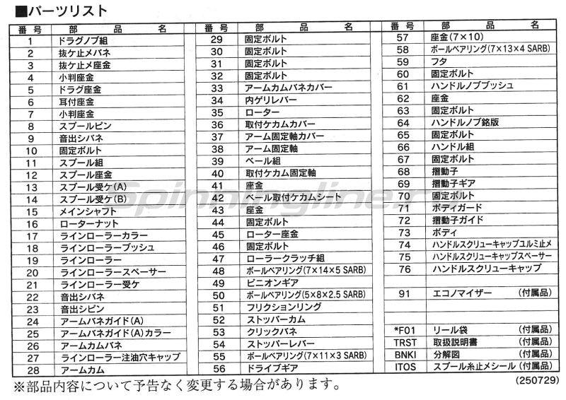 Shimano - Катушка Nasci 13 4000 HG - фотография 5
