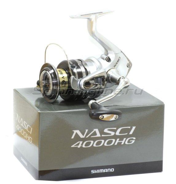 Shimano - Катушка Nasci 13 4000 HG - фотография 6