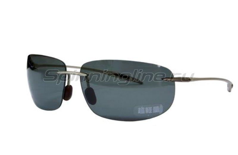 Очки Shimano HG-068K цв. титан/коричневый р-р. one -  1