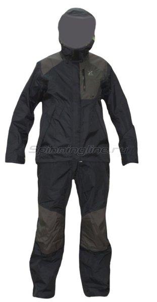 Костюм Shimano XEFO Dryshield RA-28SL цв. черный 4L - фотография 1