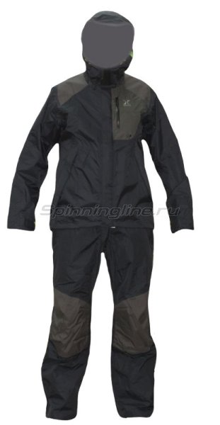 Костюм Shimano XEFO Dryshield RA-28SL цв. черный LL - фотография 1