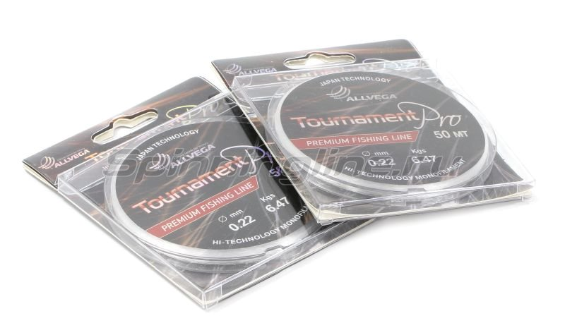 Allvega - Леска Tournament Pro 50м 0,18мм - фотография 1