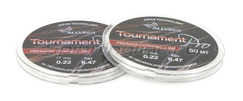 Allvega - Леска Tournament Pro 50м 0,18мм - фотография 2