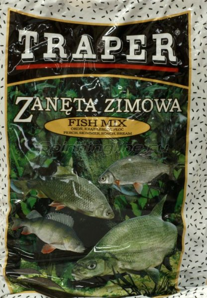 Прикормка Traper Zimowe Fish Mix 0.75кг -  1