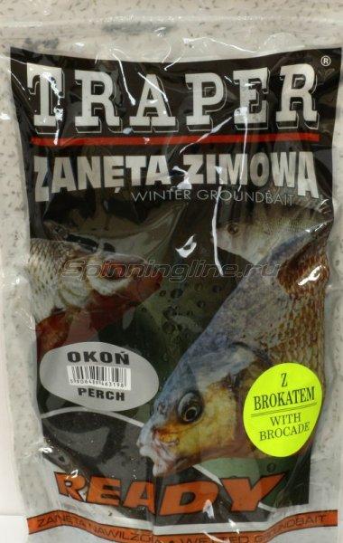 Прикормка Traper Ready Zimowe Окунь 0,75 кг -  1
