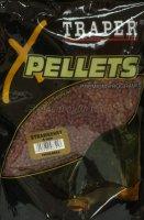 Прикормка Traper Pellets Клубника 4мм 1кг
