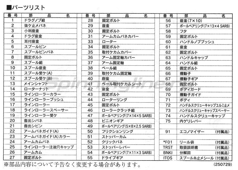 Shimano - Катушка Nasci 13 2500 - фотография 5