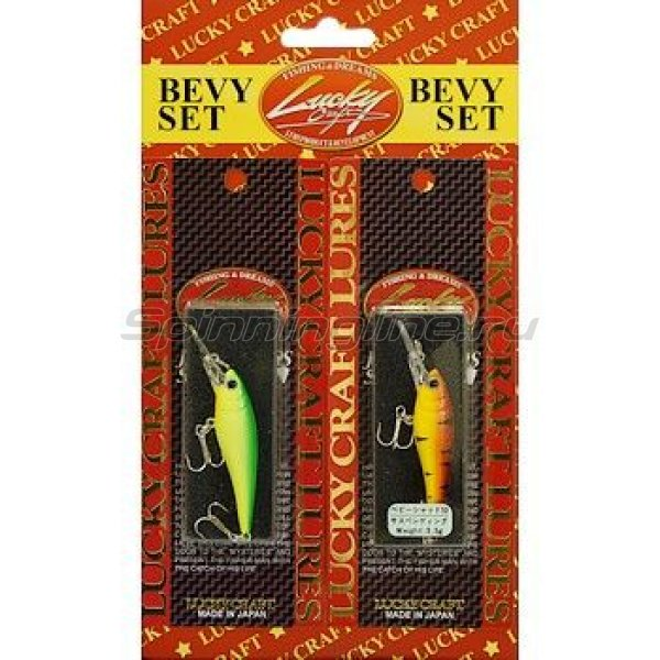Lucky Craft - Воблер Bevy Set-Bevy Shad 50F/50SP - фотография 1