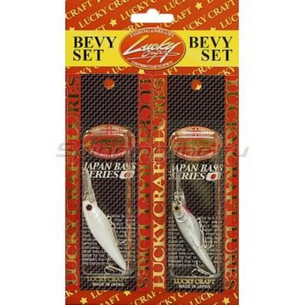 Lucky Craft - Воблер Bevy Set-Bevy Shad 60SP - фотография 1