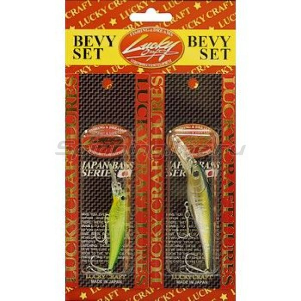 Lucky Craft - Воблер Bevy Set-Bevy Shad 60SP/75SP - фотография 1