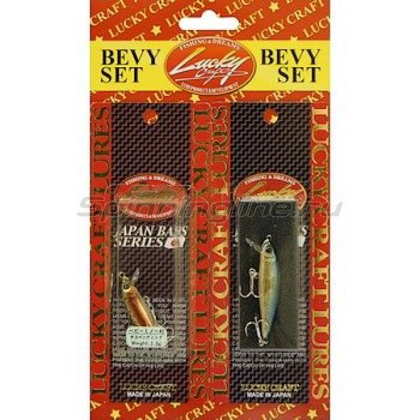 Lucky Craft - Воблер Bevy Set-Bevy Minnow 40SP - фотография 1