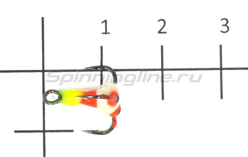Тройник для приманок Salmo LJ Scandi с каплей 12/YRF -  1
