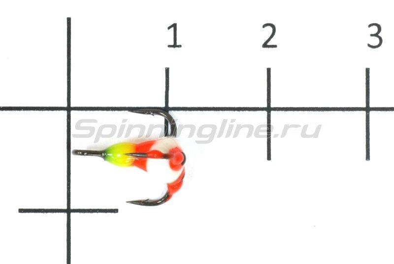Тройник для приманок Salmo LJ Scandi с каплей 16/YRF -  1