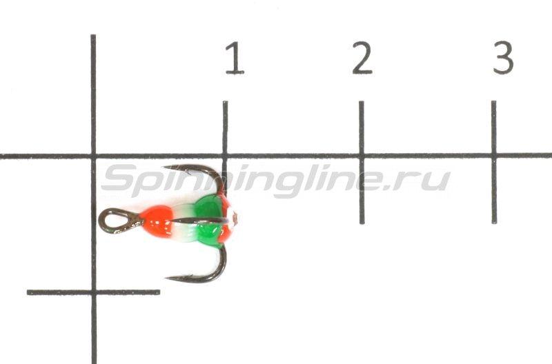 Тройник для приманок Salmo LJ Scandi с каплей 18/RFG - фотография 1