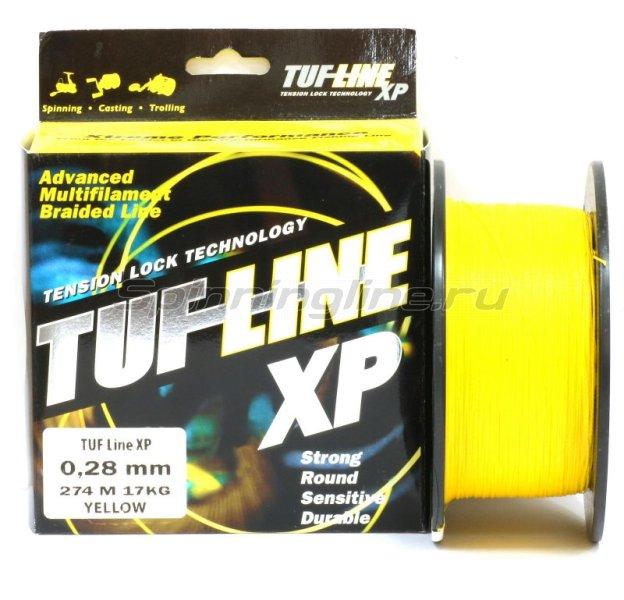 Tuf-Line - Шнур XP 274м 0.28мм yellow - фотография 1