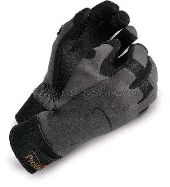 Rapala - Перчатки ProWear Beufort Anatomic CUT L серый - фотография 1