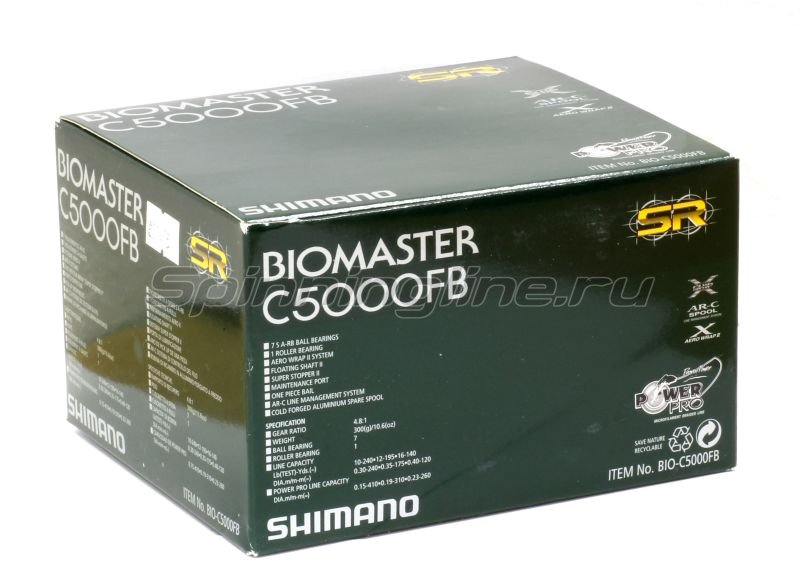 Shimano - Катушка Biomaster C 5000 FB - фотография 7