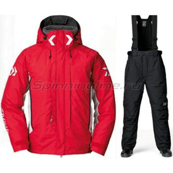 Костюм Daiwa Hyper Combi-Up Hi-Loft Rainmax Red XXL -  1