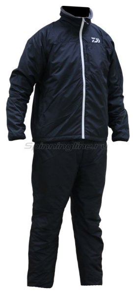 Костюм Daiwa Warm-Up Black XXXXL - фотография 1