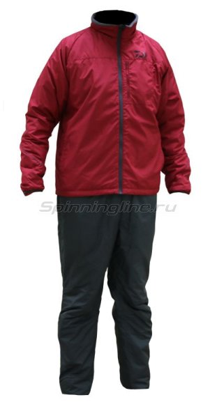 Костюм Daiwa Warm-Up Dark Red XXXXL - фотография 1