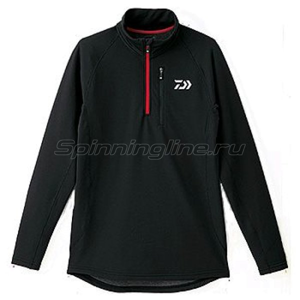 Куртка Daiwa Breathmagic Half Zip Jacket Black-Red XL - фотография 1