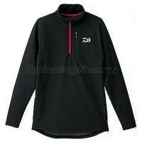Куртка Daiwa Breathmagic Half Zip Jacket Black-Red XXL