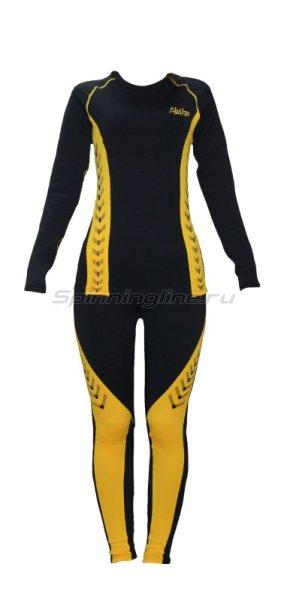 Термобелье Alaskan Lady Guide XL черно-желтый - фотография 1