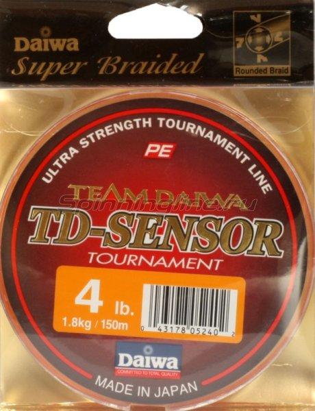 Шнур TD Sensor Tournament 150м 0,08мм -  1