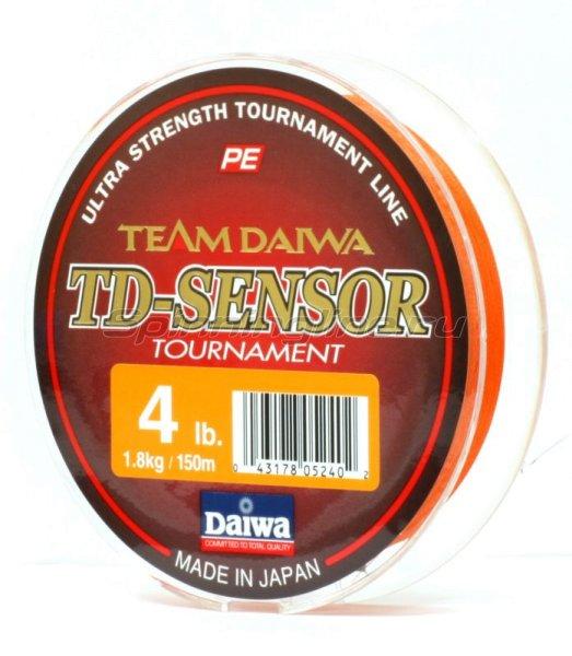 Шнур TD Sensor Tournament 150м 0,08мм -  2