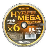 Плетеный шнур Daiwa UVF Hyper Mega Sensor