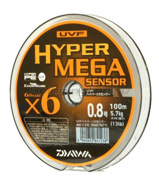 Daiwa - Шнур UVF Hyper Mega Sensor 100м 1.2 - фотография 2